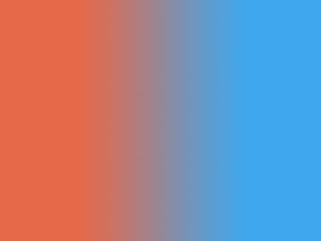 Exit Orange, Enter Blue