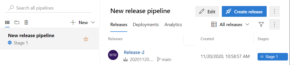 Pipeline is deploying