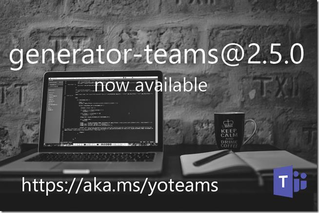 generator-teams-2.5.0