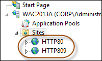 WAC Websites
