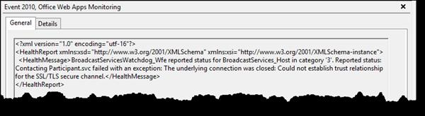 SSL errors