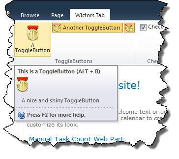 The ToggleButton