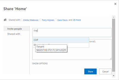 Dynamic Groups in SharePoint Online