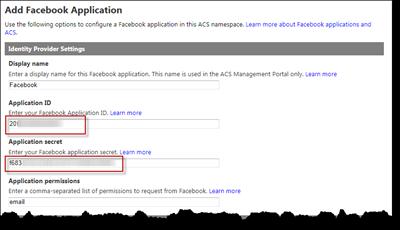 Configure the Facebook IP