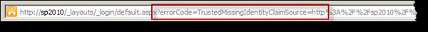 Check thy URL