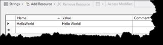 A Resource file