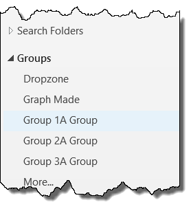 Groups in Outlook 2016