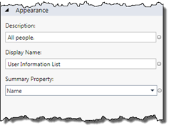 Properties of a LightSwitch entity