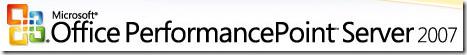 PerformancePoint Server 2007