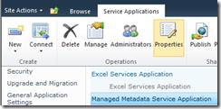 Managed Metadata Service