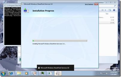 Installing WSS on Windows 7