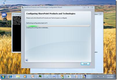 Configuring…
