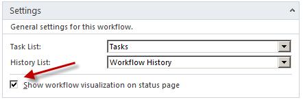 Workflow Settings