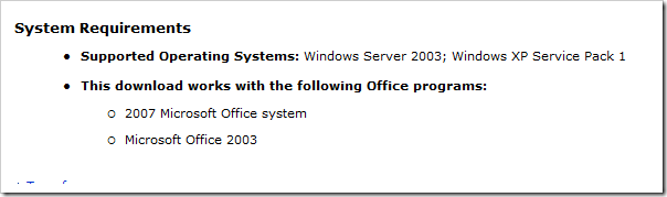 SharePoint Designer System Requirements
