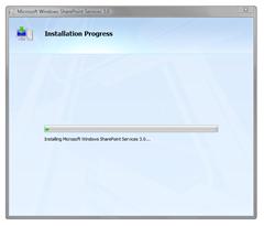 Installing WSS 3.0 on Windows Vista