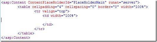 WebPartZone removed