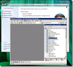 Visual Studio 2003 running on Windows 7 using Windows XP mode