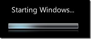 Windows 7 Starting