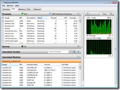 Windows 7 Resource Monitor