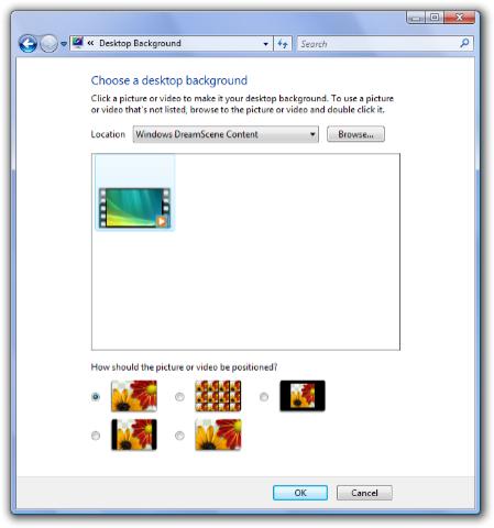 Personalize Desktop Background